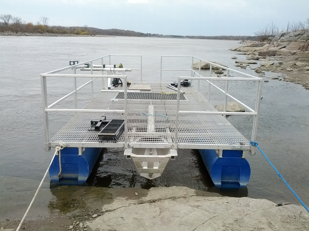 Equipment Chttc Canadian Hydrokinetic Turbine Test Centre