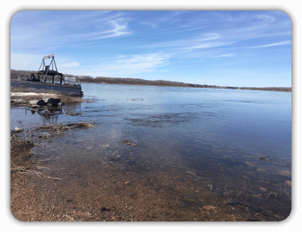 Jackfish Bay Launch Site